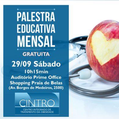 29/09: Palestra Educativa Mensal