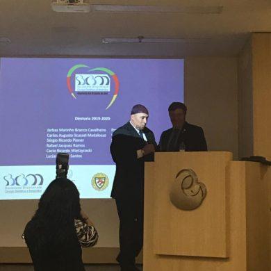 Dr Jarbas Cavalheiro presidente SBCBM-RS